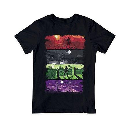 Camiseta T-Shirt Masculina - Personagens