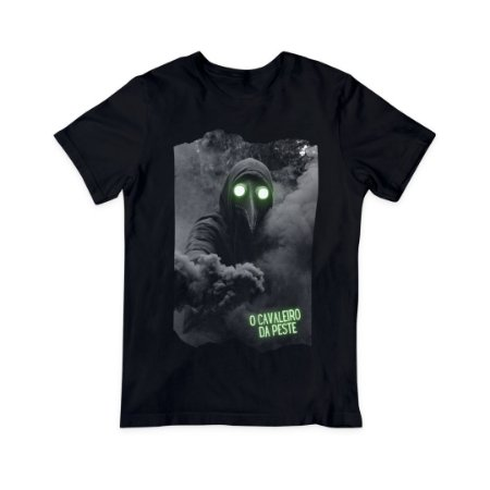 Camiseta T-Shirt Masculina - O Cavaleiro da Peste