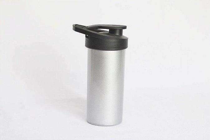 Squeeze de plástico - Prata Metalizado