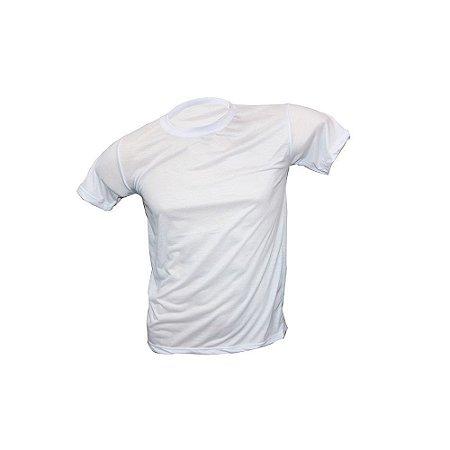 Camiseta Algodão Branca (100% Sublimável)