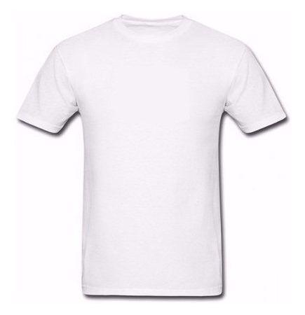 Camiseta Poliéster (8 anos) - Branca