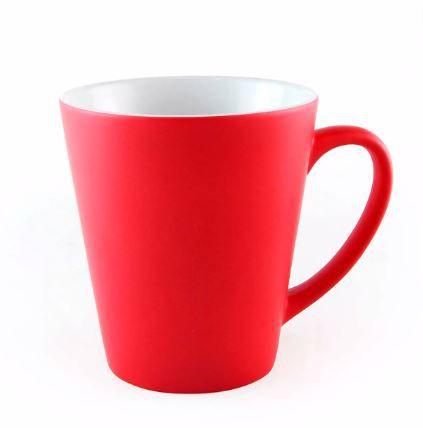 Caneca porcelana mágica 11oz - Vermelha