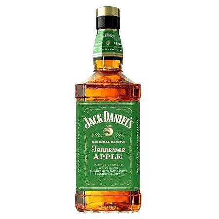 Licor Americano Whisky e Maçã Verde Jack Daniels Tennessee Apple 1 Litro