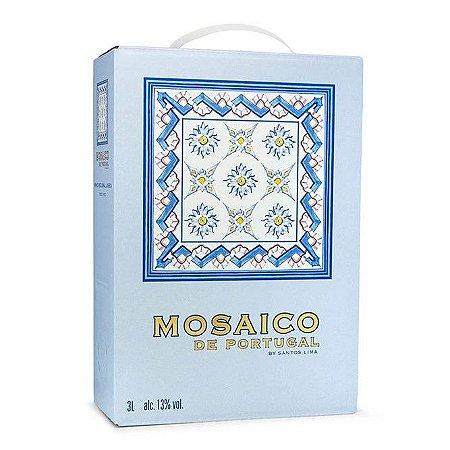Vinho Fino Tinto Meio Seco Mosaico de Portugal Casa Santos Lima Bag 3 litros