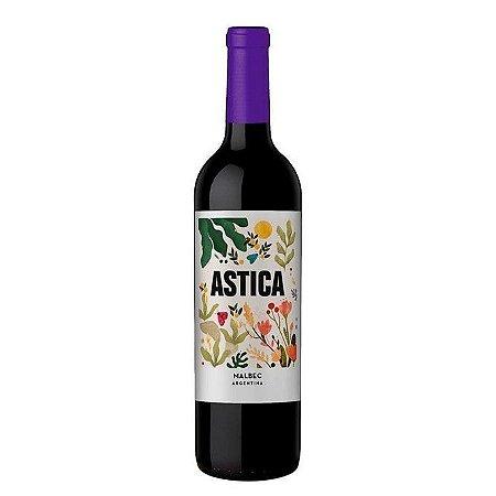 Vinho Argentino Fino Tinto Seco Malbec Astica Trapiche 750ml