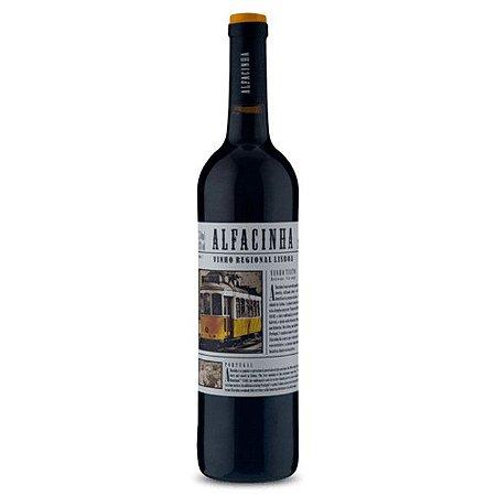 Vinho Português Tinto Meio Seco Alfacinha 750ml