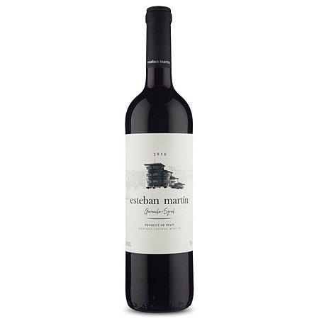 Vinho Espanhol Tinto Seco Esteban Martin D.O.P. Carinena Garnacha Syrah 750ml