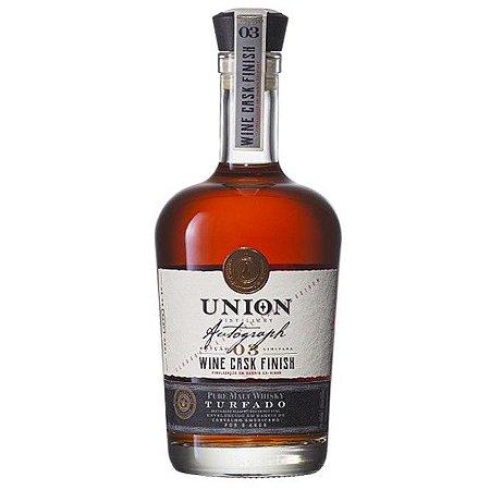 Pure Malt Whisky Turfado Wine Cask Finish Union Distillery 750ml