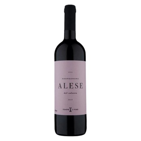 Vinho Italiano Tino Meio Seco Alese I.G.T Salento Negroamaro 750ml