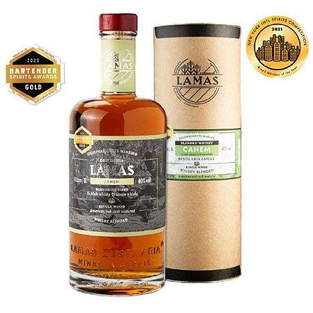 Blended Whisky Canem Lamas 1000ml