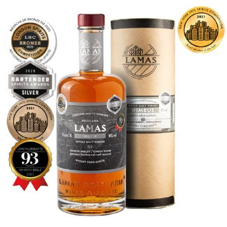 Single Malt Whisky Nimbus Lamas 1000ml