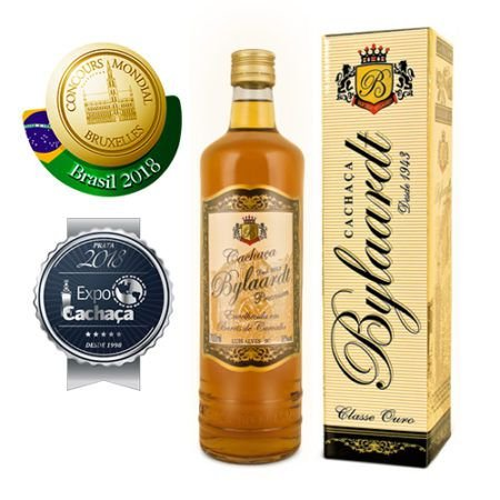 Cachaça Bylaardt Premium 10 anos 700ml