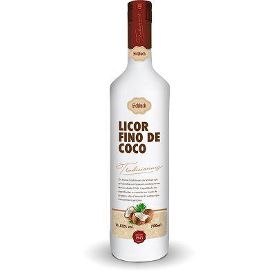 Licor Fino de Coco 750 ml Schluck