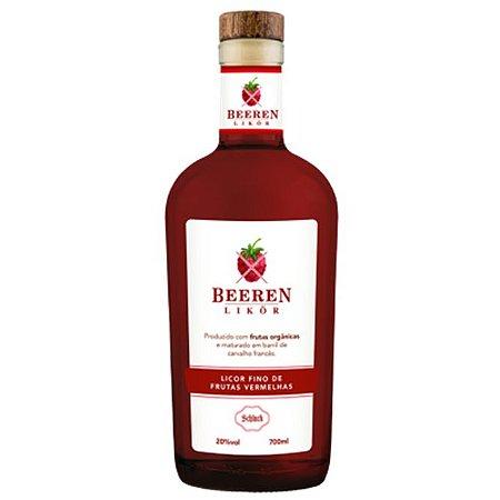 Licor de frutas vermelhas Beeren Likör 700 ml Schluck