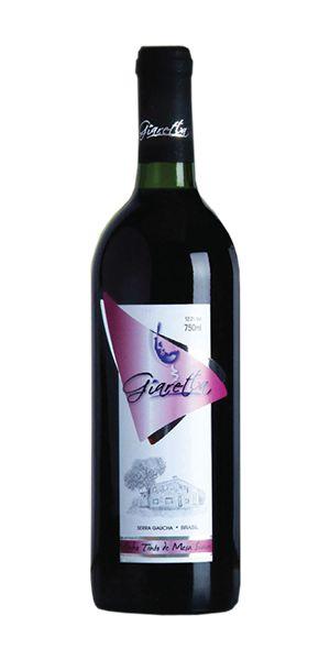 Vinho tinto suave de mesa Giaretta 750ml