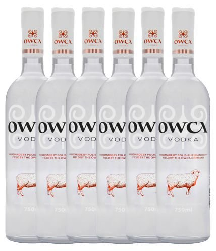 Kit 6 Vodkas Artesanais OWCA 750ml
