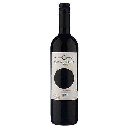 Vinho Argentino Tinto Seco Cava Negra Merlot 750ml