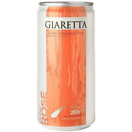 Vinho Rosé Seco em Lata Giaretta 269ml