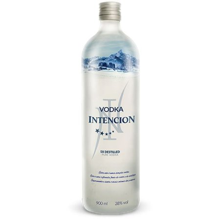 Vodka Intencion Destilada 5x 900ML
