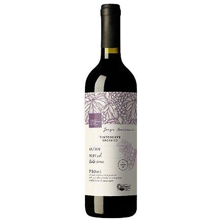 Vinho Orgânico Tinto Suave de Mesa 750ml