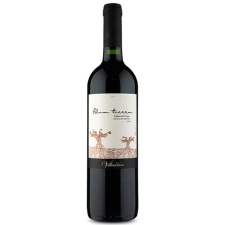 Vinho Chileno Fino Tinto Seco Alma Tierra D.O. Cabernet Franc 750ml
