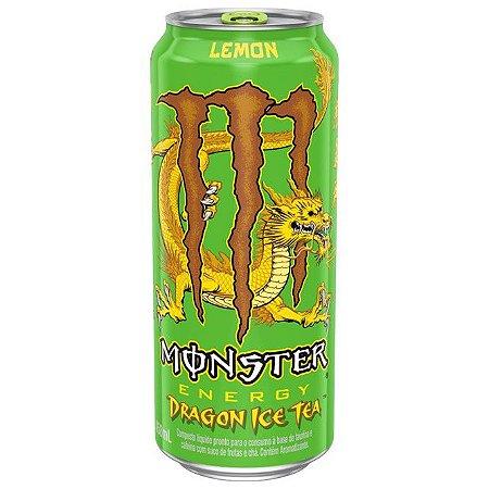 Energético Monster Dragon Ice Tea Lemon 473ml