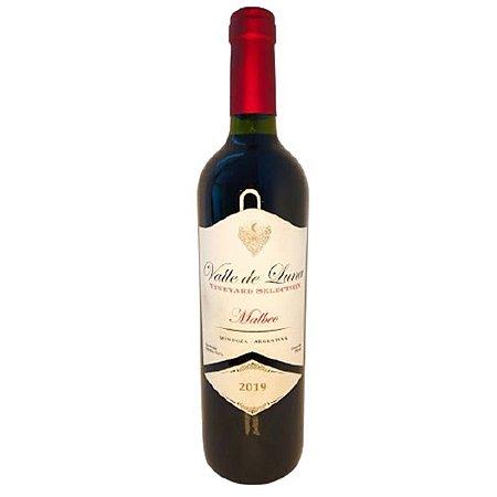 Vinho Argentino Tinto Fino Seco Valle de Luna Malbec 750ml