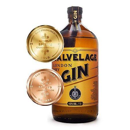 Gin London Dry Kalvelage 1000ml