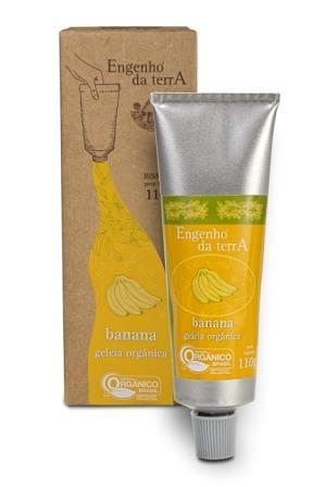 Geleia de banana orgânica Engenho da Terra 110g