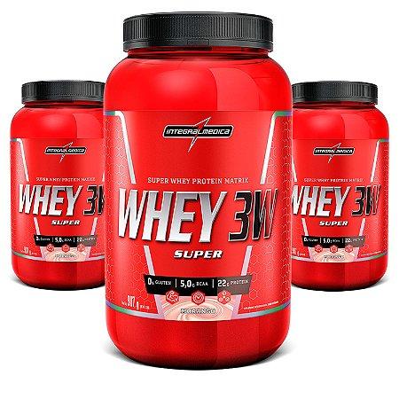 Super Whey 3W Body Size - 907g - Integralmédica