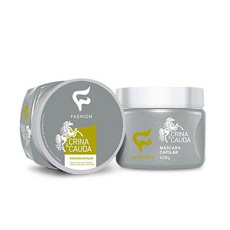 Máscara Capilar Crina & Cauda Fashion 400g - Kit com 06 Unidades