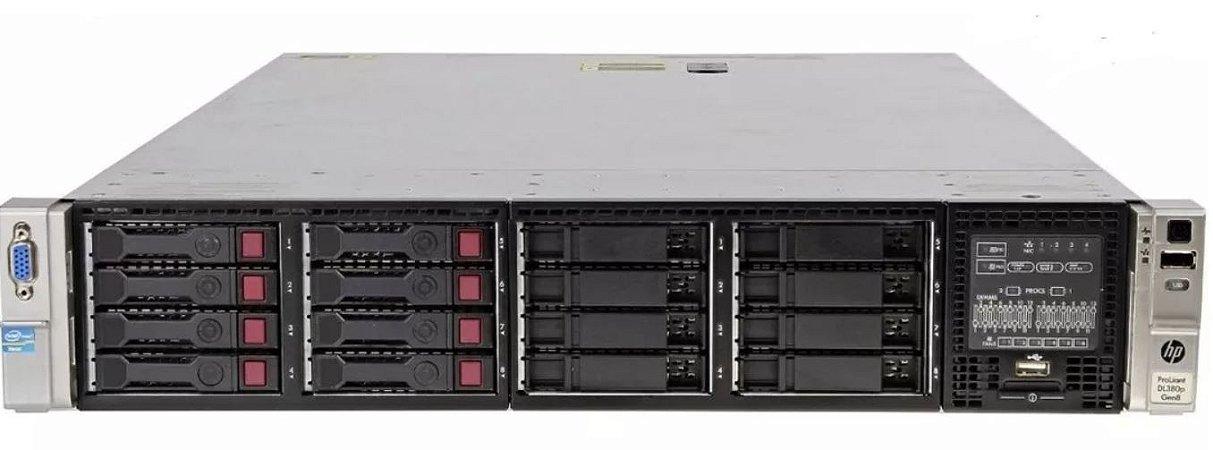 Servidor HP DL380 Gen8: 2x Xeon E5-2665 Octacore 64 GB 600GB
