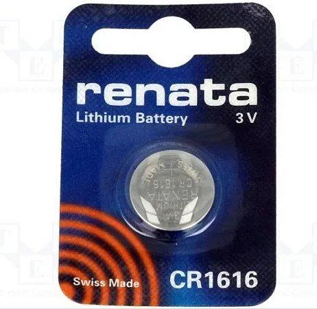 Bateria Botao Renata Cr1616 Lithium 3v - Original