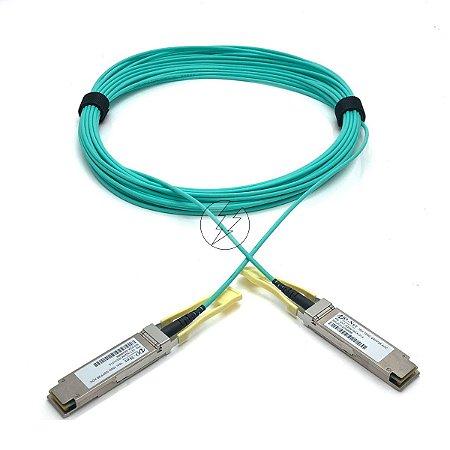 Cabo fibra óptica VO-Net QSFP28 para QSFP28 1AT-3Q4M16XX-01A