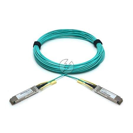 Cabo de fibra óptica VO-Net QSFP28 para QSFP28 1AT-3Q4M20XX-