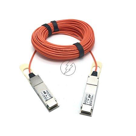 Cabo de fibra óptica AOI QSFP28 para QSFP28 AQPA9N22ADLN0817