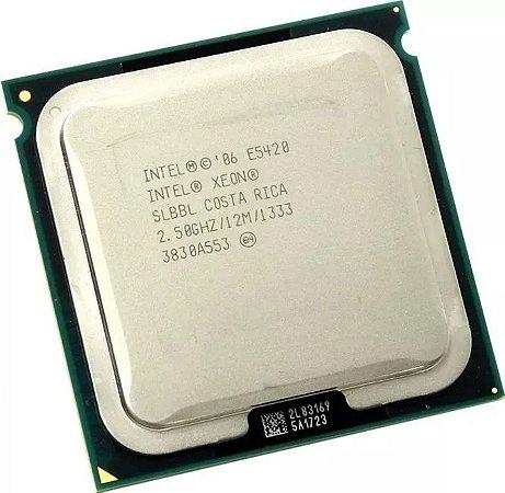 Processador Intel Xeon E5420: 4 cores Socket LGA771 12M