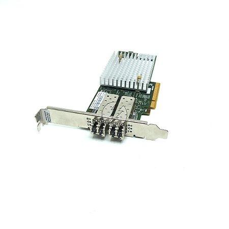 Kit Placa controladora HBA IBM 81Y1678 + 2x Transceiver Broc