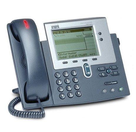 Telefone Cisco 7940 G - Poe - Unified IP Phone CP - Seminovo com Garantia 6 meses