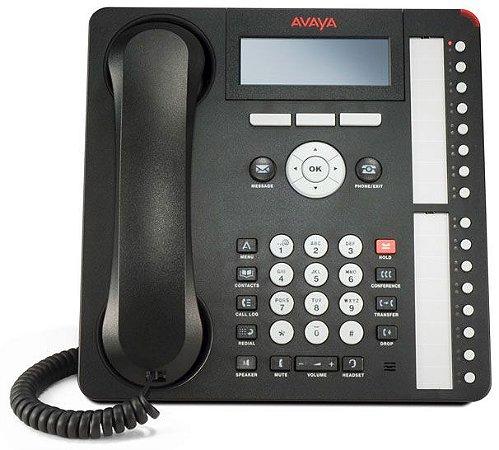 Telefone IP Profissional Avaya 1616 I - 16 Linhas - Seminovo com Garantia 6 meses
