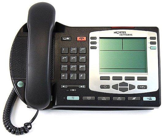 Telefone IP Nortel PoE - Ntdu92 - 8 Linhas - Seminovo com Garantia 6 meses