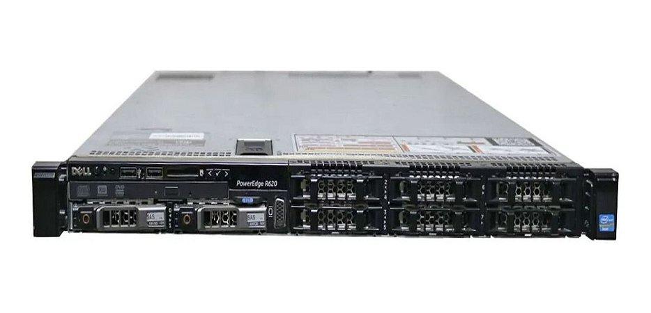 Servidor Dell R620, 2x Xeon Six Core, 32gb, 2 Tera