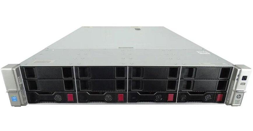 Servidor Hp Dl380 G9 2 Xeon 14 Core 64 Giga 2x Sas 600 Giga