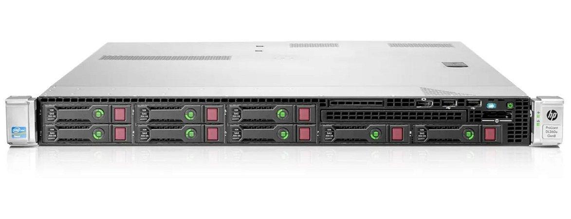 Servidor Hp Dl360e G8 2 Xeon Octacore 32Gb, 2x SAS 300gb 10k