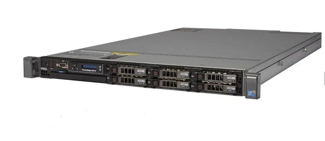 Servidor Dell R610, 2 Xeon e5645 Six Core, 32GB, SAS 1,2 TB