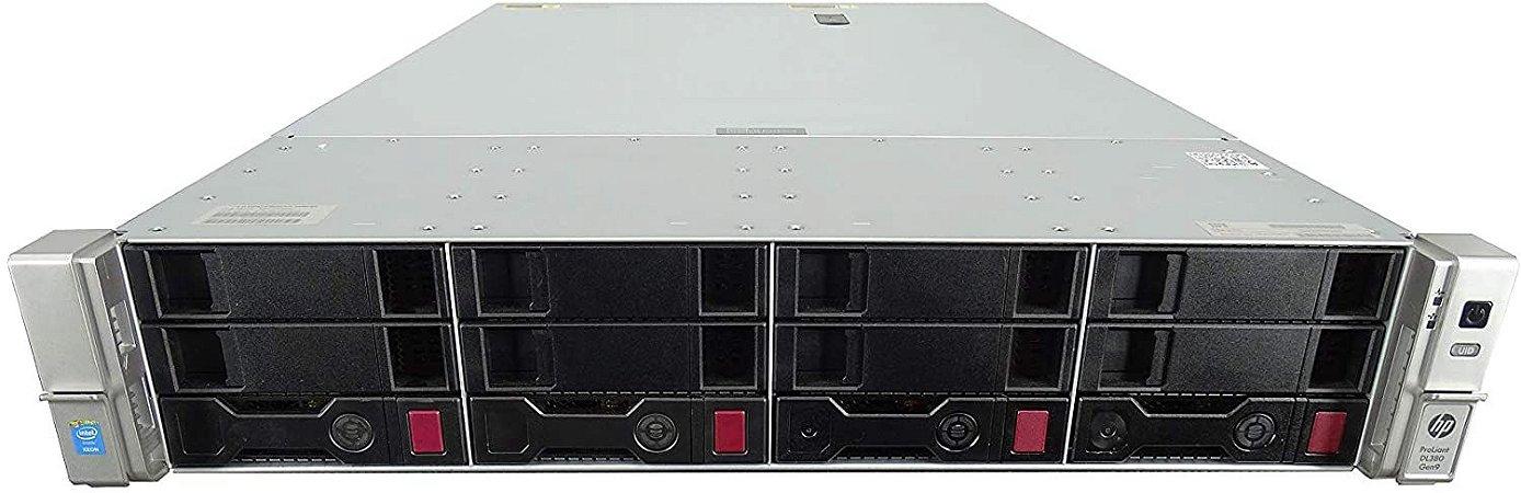 Servidor Hp Dl380p G9, 2 Xeon 12 Core, 64gb, 2 tb, 2 DC 48v