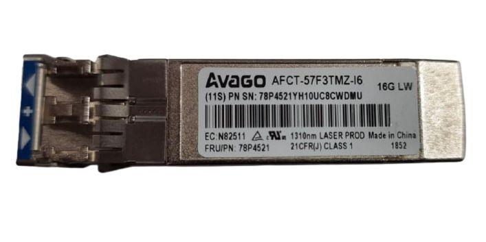 Gbic IBM AVAGO AFCT-57F3TMZ-I6, 78P4521, 1310nm 16GB LW