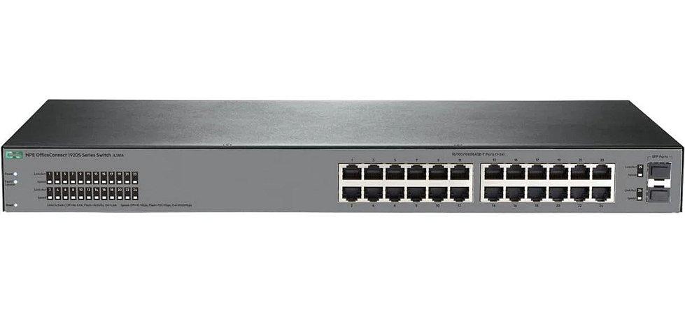 Switch HPE JL381A 1920S 24G 2SFP 24 p. Gigabit, 2 SFP
