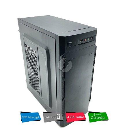 Pc Desktop Core 2 Duo 3.0GHz, 4GB + 320GB HD - Ótimo custo - Produto Novo com Garantia