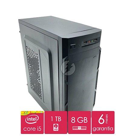 Computador Intel i5 8GB + 1 Tera de HD SATA - Desktop Novo